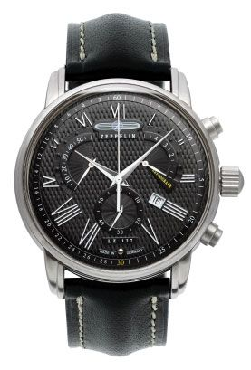 Graf Zeppelin LZ127 Retrograde Chronograph Watch $385