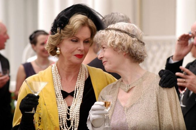 Geraldine McEwan Miss Marple Series | ... Geraldine McEwan as Miss Marple. (Agatha Christie's Marple TV Series
