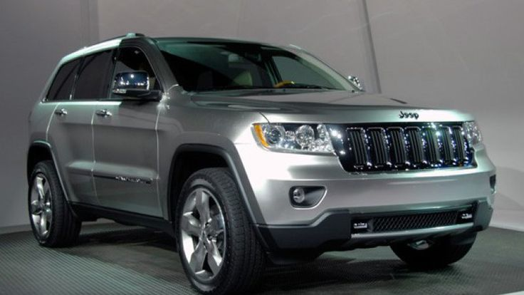 2011 Jeep Grand Cherokee live shots – Click above for high-res image gallery