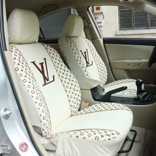 LV custom car interior