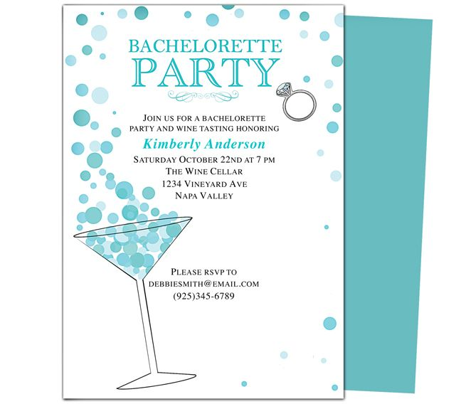 26 best images about printable diy bachelorette party invitations