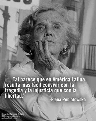 América Latina, Elena Poniatovska.