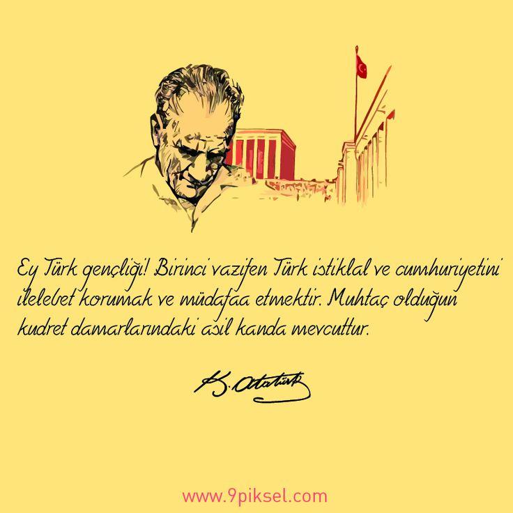 19 Mayıs Atatürk'ü Anma, Gençlik ve Spor Bayramı kutlu olsun…