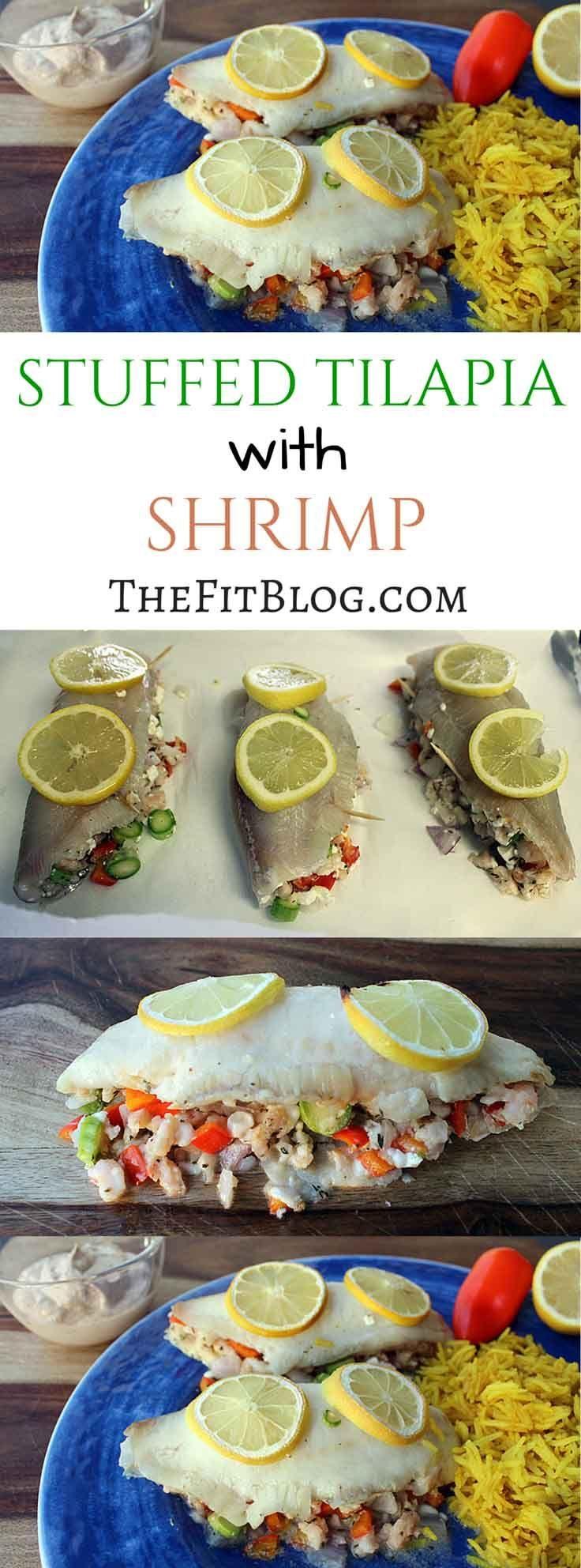 Tilapia Stuffed With Shrimp