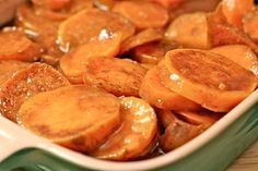 southern candied yams recipe Added canned pineapple (no juice) and 1 cup white and 1 cut brown sugar. Used honey instead of maple syrup.