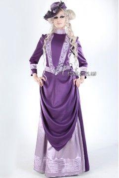 Фото - Викторианское платье для прогулок