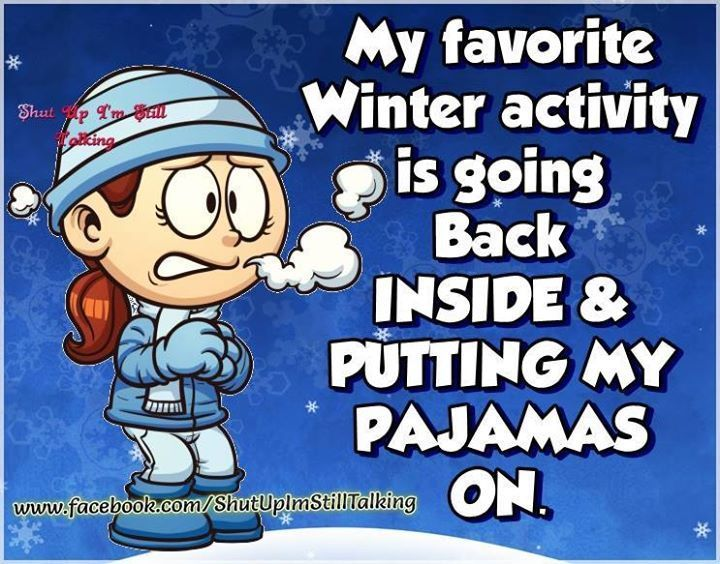 My Favorite Winter Activity
