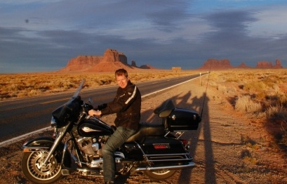 Harry in Monument Valley