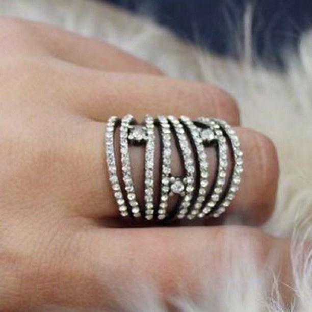 Diamanté Dream Ring