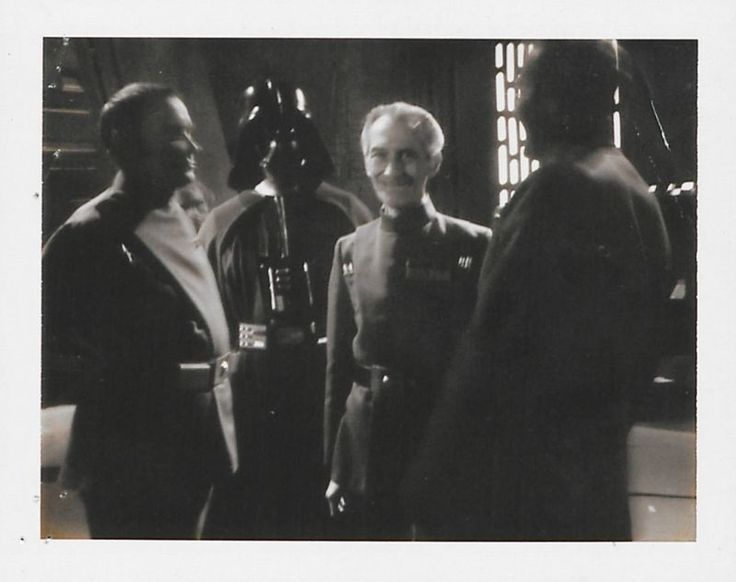Behind The Scenes Polaroids from Star Wars Episode IV: A New Hope