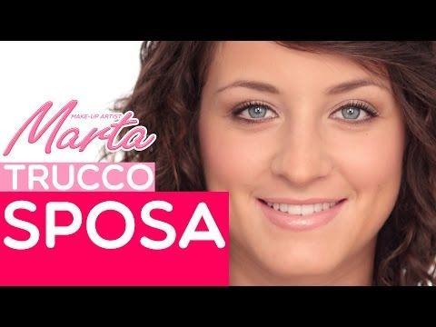 Come Fare un Trucco Sposa   Marta Make up Artist   Video Tutorial di Trucco - YouTube