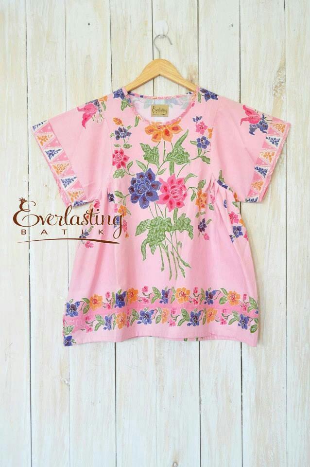 modelnya bagus #batik #pink