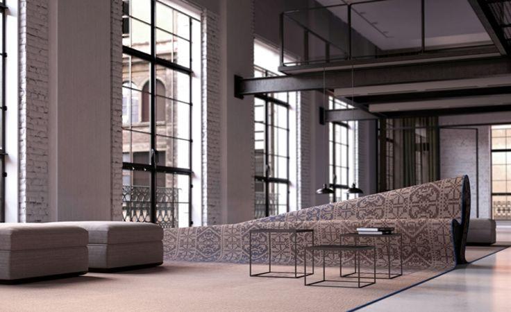 Italienische Designermöbel Alessandro Isola stumble upon sofa italienische möbel designer teppich sofa