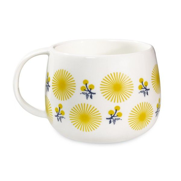 mug Fleurs jaunes Mr&Mrs Clynk