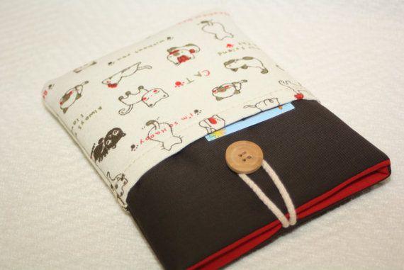 Bruine zak met katten  met twee zakken-Kindle Voyage door TASAMA