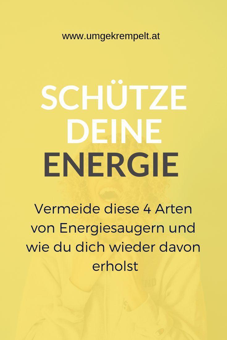 Energievampire und wie du dich davor schützt