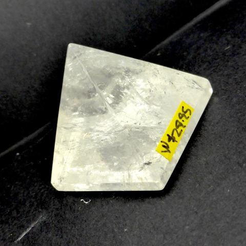 Clear Quartz Natural Crystal Pyramid | 40 mm base | White Light | Creative Grounding | Crystal Heart Melbourne since 1986