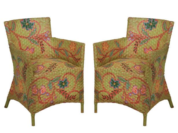 Painted Wicker Furniture Pictures