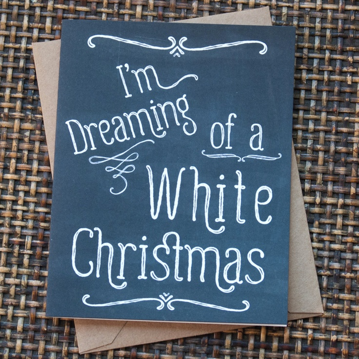 Chalkboard Christmas Cards Hand Lettering