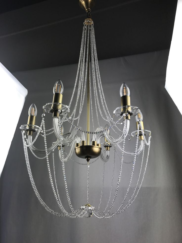 Empire crystal chandelier modern 58 WEISBERG