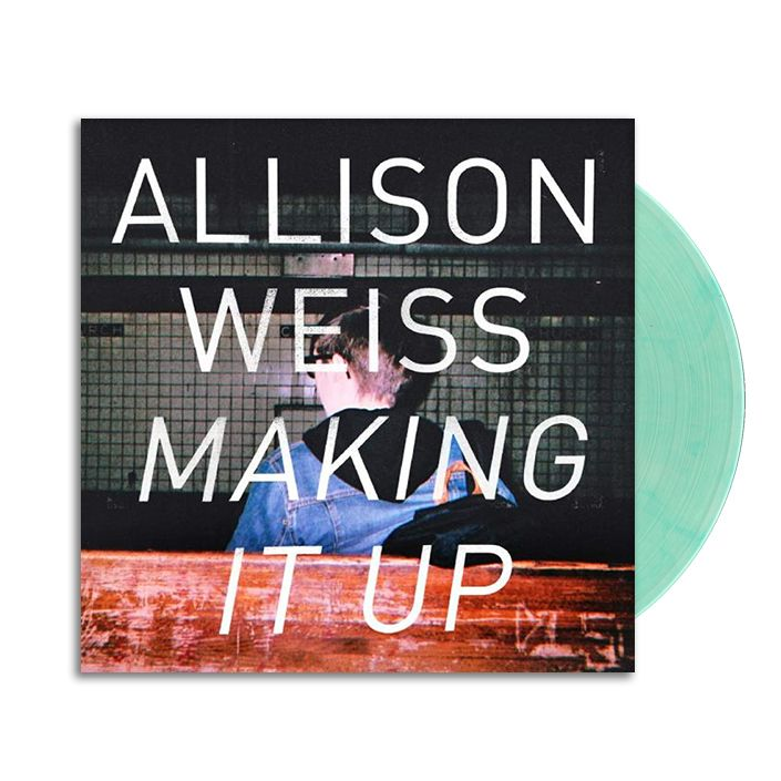 """Lazy Labrador Records - Allison Weiss · Making It Up · 7"""" · Cokebottle Clear, $39.99 (http://lazylabradorrecords.com/allison-weiss-making-it-up-7-cokebottle-clear/)"""