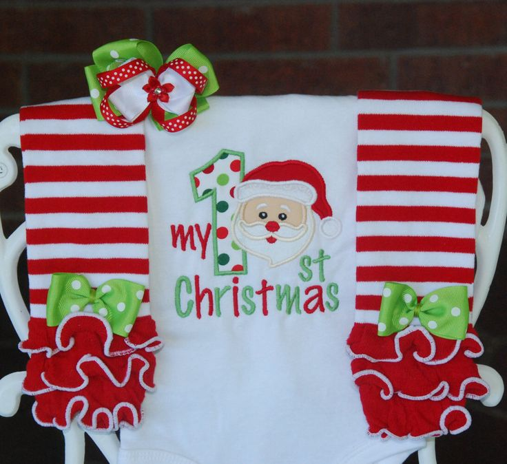 Baby Girl My 1st Christmas Outfit! Santa Christmas outfit for baby girls/Girls Santa outfit/First Christmas outfit/Baby girl Santa outfit by RuffleDarlings on Etsy https://www.etsy.com/listing/242567554/baby-girl-my-1st-christmas-outfit-santa