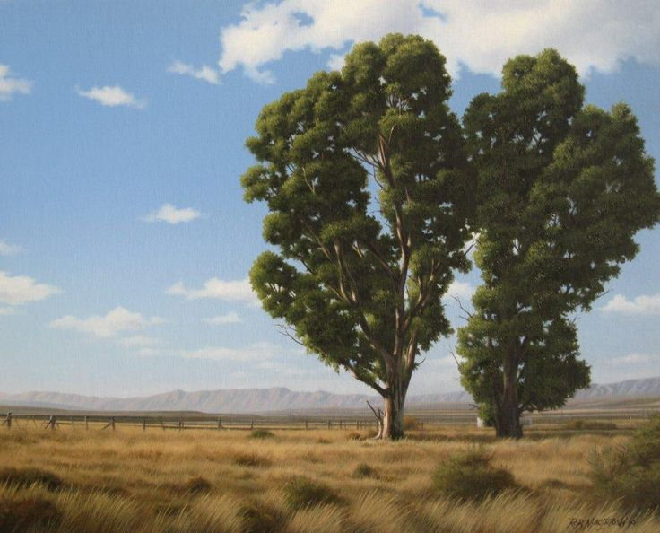 Landscape painting by Rob Macintosh