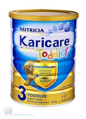 Gold 3 + Toddler Formula http://www.shopnewzealand.co.nz/en/c/Karicare