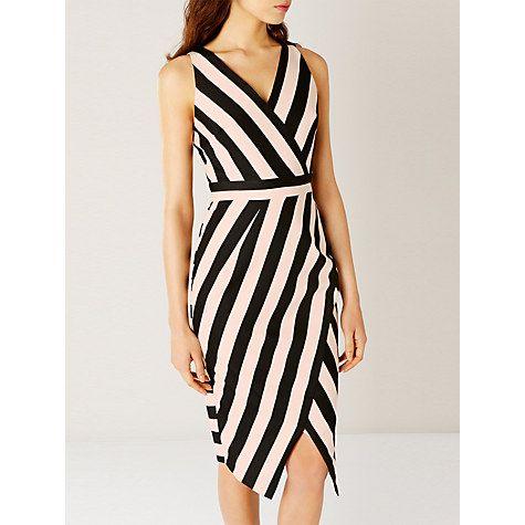 Buy Coast Ishani Stripe Shift Dress, Multi Online at johnlewis.com