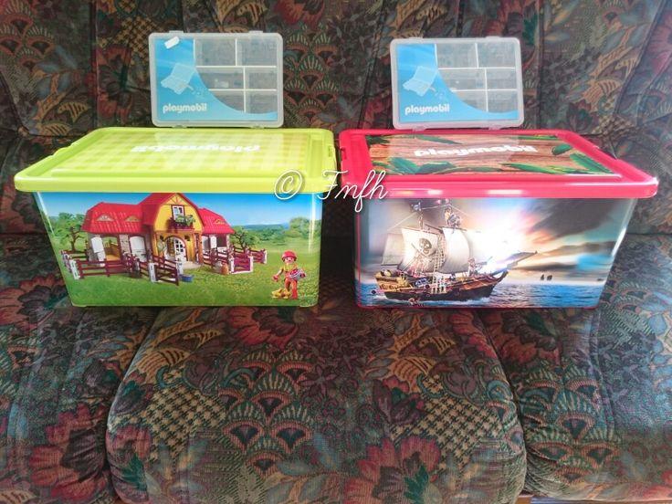Les Playmobil c'est bien, les ranger c'est mieux ... { #Concours }