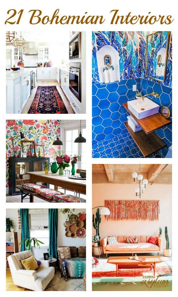 Bohemian Interior Inspiration   – A Decor Plan : Davis
