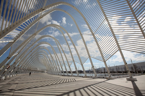 Athens olympic complex (arch), Marousi. Designed by Santiago Calatrava.