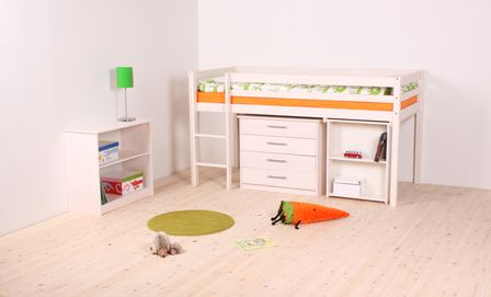 Thuka Hit 7 Cabin Bed with Pull Out Desk and Drawers