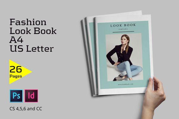 Fashion Lookbook by Firtana on Creative Market
