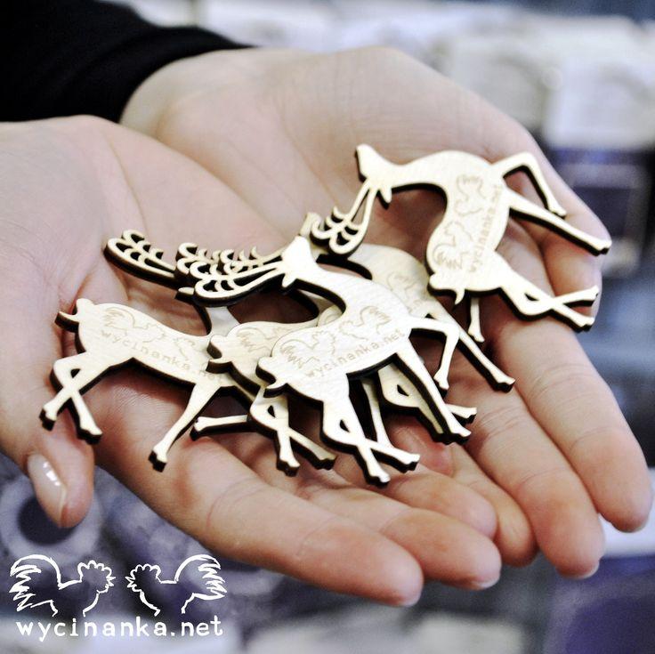Some lovely reindeer magnets. :)