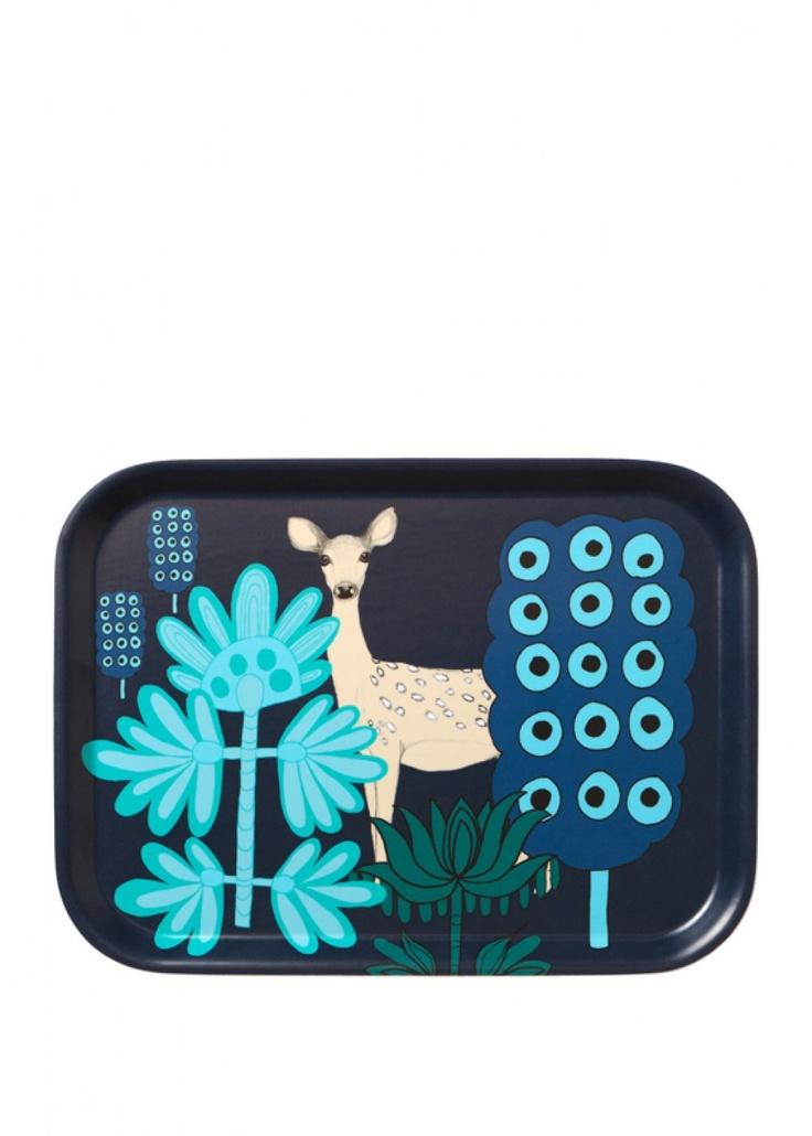 Kaunis kauris tray | Trays | Marimekko