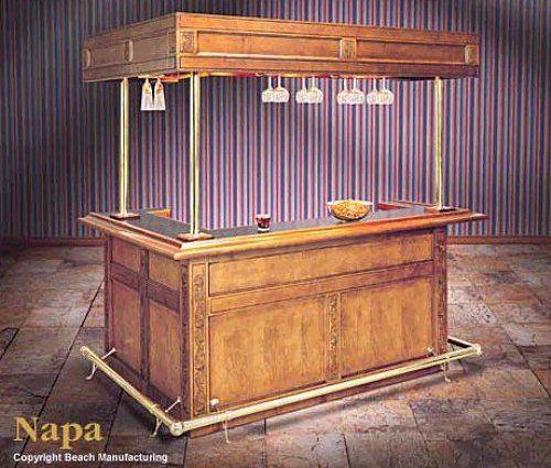 Manufacturing The Napa Canopy Bar Set INSIDE BAR VIEW | & 14 best Wet Bar images on Pinterest | Basement ideas Home ideas ...