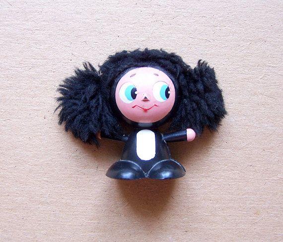 Vintage Soviet Toy Cheburashka. One of the Most by RarityFromAfar, $14.49