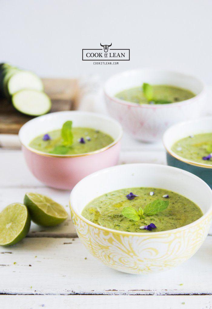 Pikantna zupa krem z cukinii - Cook it Lean - sprawdzone paleo przepisy