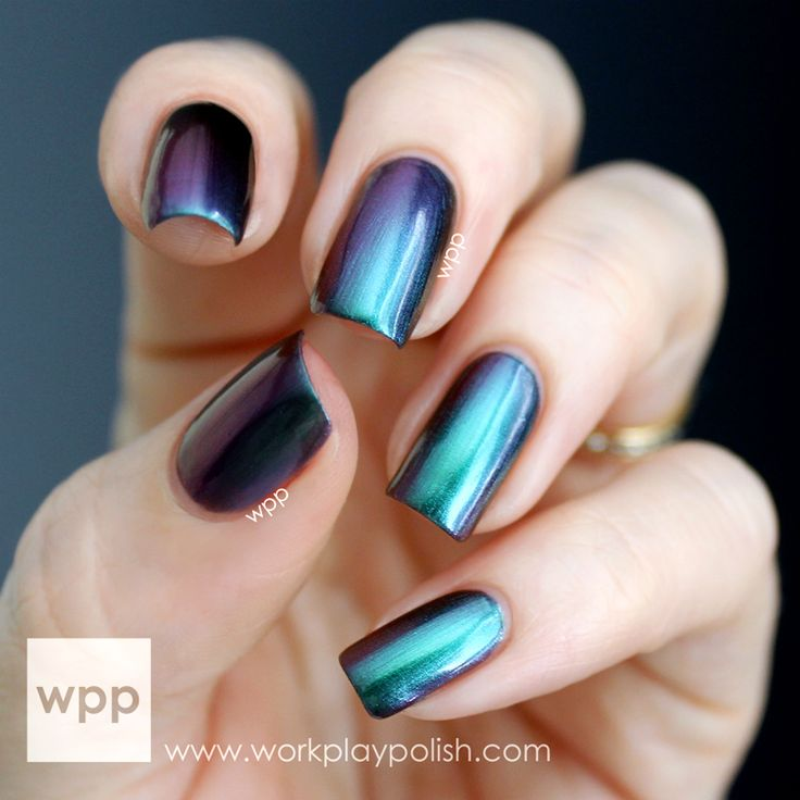 1000+ Ideas About Chrome Nail Polish On Pinterest