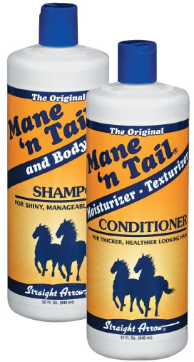 My favorite horse shampoo and conditioners. These brands are always in my supply closet.