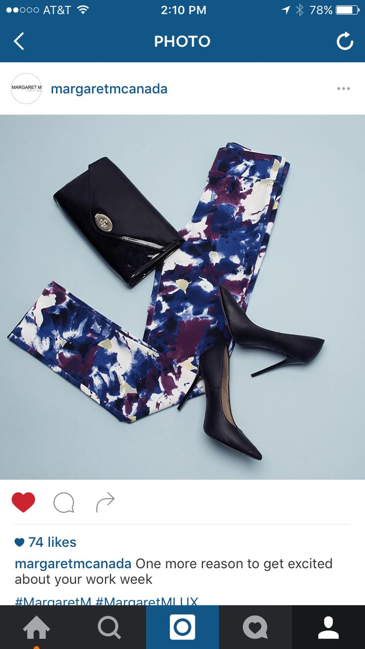 Love these Margaret M pants! How about a abstract floral pair? Do these come in full length?