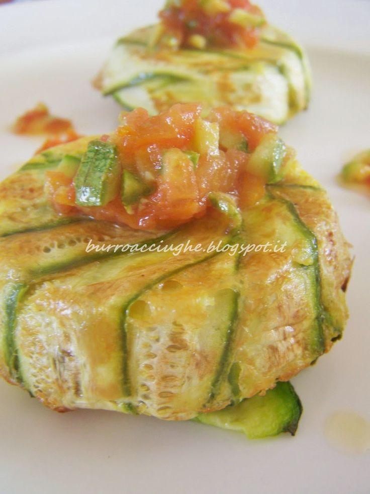Timballo di pasta e zucchine al limone. #pasta #zucchine #pie #lemon #italiandish