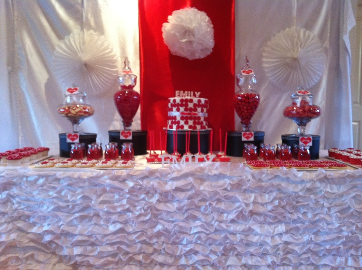 EMILY THEMED CANDY BUFFET, STYLED BY PRINCESS JADES CANDY BUFFETS!