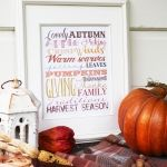 Fall Subway Art Free Printable and TONS of other printables!!