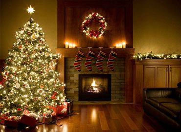 make your home a winter wonderland.  simple tips for decorating for the holidays.