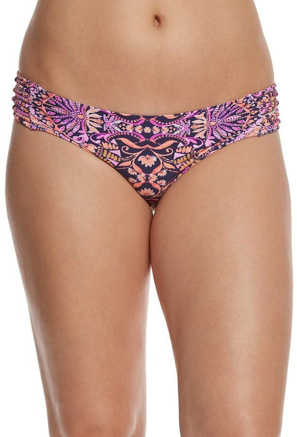 O'Neill Swimwear Surf Bazaar Knot Side Hipster Bikini Bottom 8154646