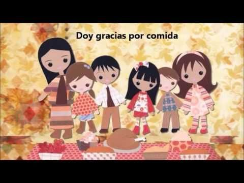 "Dia de accion de gracias - Also good for reviewing the verb ""dar"""