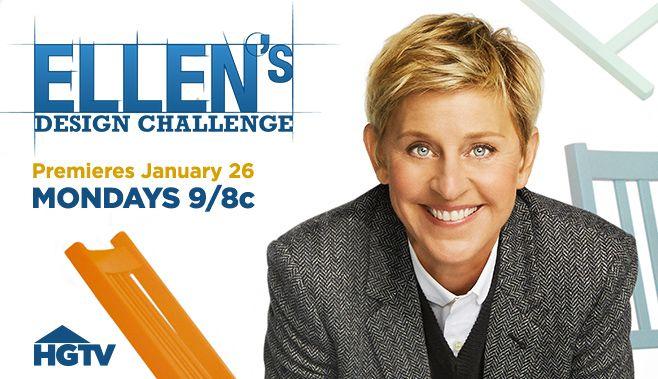 ellen degeneres design challenge   Her Show, Her Rules: Ellen's Design Challenge Comes to HGTV
