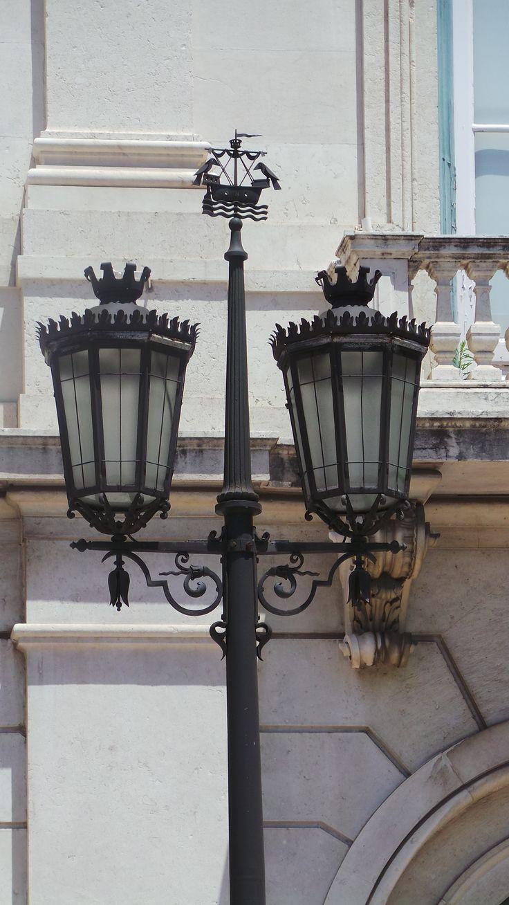 Luzes de Lisboa.